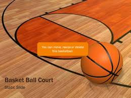 Basketball Powerpoint Template Basketball Court A Powerpoint Template From Presentermedia Com