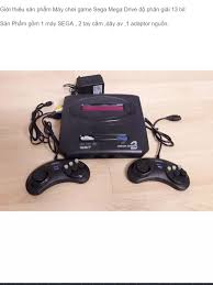 Máy chơi game 16 bit 6 nút Sega Mega Drive