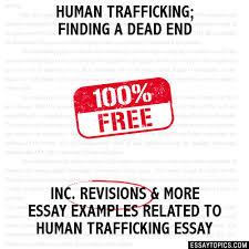 human trafficking essay   essay topics