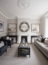 Transitional Living Room Design Mesmerizing R Road Transitional Living Room London By Hughes Developments