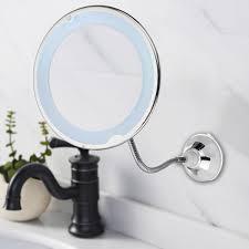 Flexible Lighted Makeup Mirror