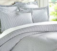 denim duvet cover full thatcher ticking stripe duvet cover sham may try pairing it with recycled