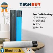 Loa Bluetooth di động cực hay True Sound LED 668 kèm đồng hồ, nghe đài FM I  Bluetooth Speaker TS True Sound Led668