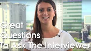 great questions to ask the interviewer