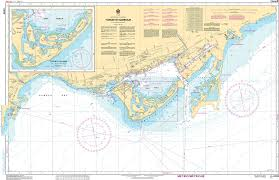 Charleston Harbor Chart 11524 Chs Nautical Chart Chs2085 Toronto Harbour