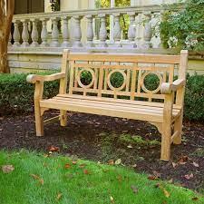 classic teak garden bench 5 foot