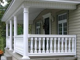 front porch railing options home decorators collection ceiling fan