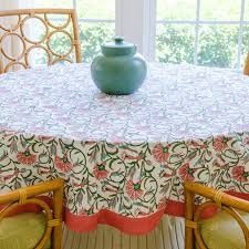 luxury round tablecloth jaipur c 70 living imprint fantail paradiso uk size target 120 inch