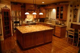 Most Popular Kitchen Flooring Solid Wood Varnished Wall Mounted Cabinet Granite Kitchen