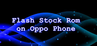 Flash Stock Firmware on Oppo T29 ...