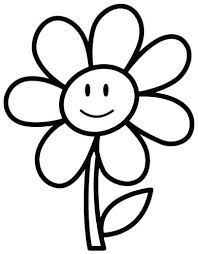 Large Flower Coloring Pages Coloring Pages Flower Coloring Pages