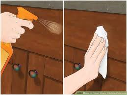 kitchen cabinet cleaner. image titled clean wood kitchen cabinets step 7 cabinet cleaner a