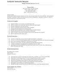 Computer Skills For Resume New Computer Skills On Resume Tommybanks