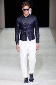 giorgio armani men s leather jacket 2016