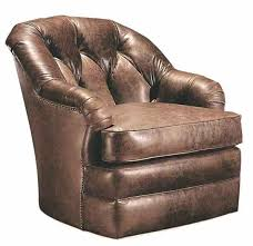 lee industries living room leather swivel chair toms annaldo