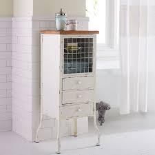 White Bathroom Cupboard Antique White Bathroom Cabinet Pier 1 Imports
