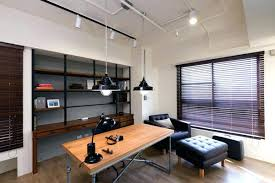 industrial office lighting. Beautiful Lighting Office Lighting Ideas Industrial Pendant And  Ceiling Track In Private With Industrial Office Lighting E