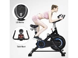 stationary exercise bike cycling