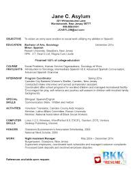 Example Resume For Graduate School Application Objective New Grad Resume New Graduate Resume Resumes For Future 5