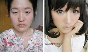 anime eyes makeup before after. Inside Anime Eyes Makeup Before After