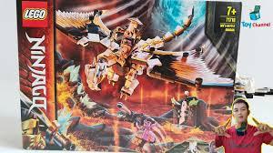 Lắp Ráp Lego Ninjago Season 13 Lego Rồng Thần Sư Phụ Wu Tại Mykingdom Toy  Channel - YouTube