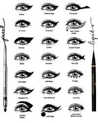 Eyeliner Chart The Life And Mind Of Ghost Eyeliner Styles Chart