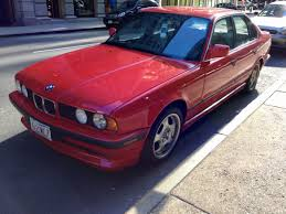 Curbside Classic: 1992 BMW 525i (E34) – The Red Bimmer Of My ...