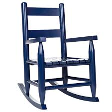 blue rocking chair. Toddler Rocking Chair | Home Furniture Indoor Chairs Cracker Barrel Old Country Store - Blue
