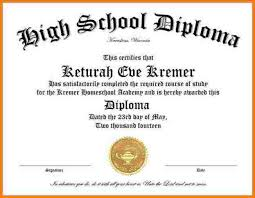 diploma word template 25 high school diploma template printables free
