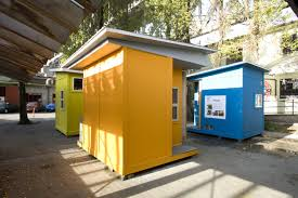 Small Picture Tiny House Homeless Shelters to Weather The Economic Hurricane