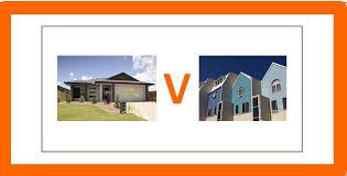 House v apartments