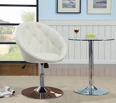 white leather swivel chair white leather swivel chair