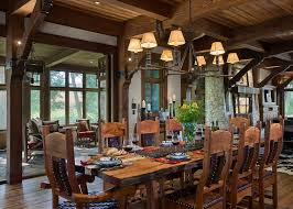best approach of rustic dining room interior reclaimed wood dining table with wood dining chair