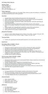 fire safety engineer resume safety director resumes  safety officer resume health sample template job description fire safety engineer resume
