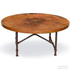 industrial pipe furniture. Furniture, Brown Industrial Pipe Metal Coffee Table Bases Designs Ideas With Round Top Full Furniture