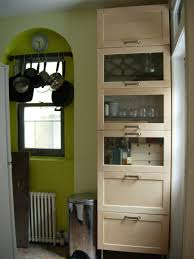 Freestanding Kitchen Freestanding Kitchen Storage From Wall Cabinets Ikea Hackers
