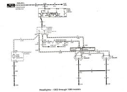 ford ranger & bronco ii electrical diagrams at the ranger station 1987 f350 wiring diagram at 1986 F350 Wiring Diagram