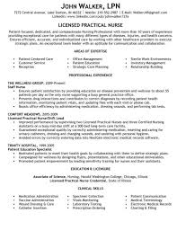 Sample Lpn Resume Nursing Resumes And Beautiful Templates New Grad