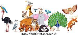 group of animals clipart. Unique Animals Wild Animals Standing In Group With Group Of Animals Clipart T