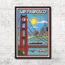 Andrade san francisco, california meet the artist support real artists. San Francisco San Francisco Poster San Francisco Wall Art Etsy San Francisco Art Print San Francisco Wall Art Boston Art Print