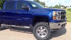 Lifted New 2014 Chevrolet Silverado by Down East Offroad. - YouTube