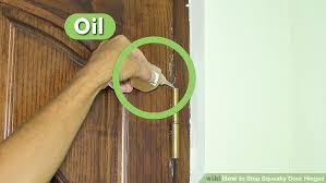 image titled stop squeaky door hinges step 1