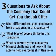 Best Questions To Ask After An Interview Best Interview Question To Ask Employer