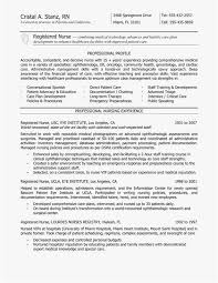Entry Level Nursing Resume Free Template Graduate Rn Resume