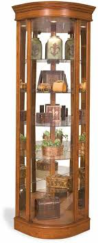 used oak corner curio cabinet curved glass s replacement rhmegansfictionscom best images on china rhlsswebinfo jpg