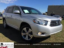 Pre Owned Silver 2008 Toyota Highlander 4WD Sport In Depth Review ...