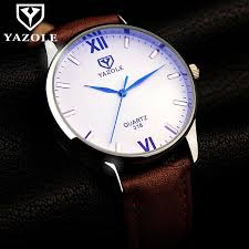 yazole wrist watch men s watches luxury fashion wrisch male clock quartz watch gentlemen quartz watch gifts dropshipping