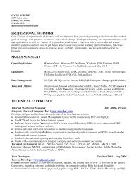 Samples Of Resume Summary Of Qualifications Luxury Resume Summary