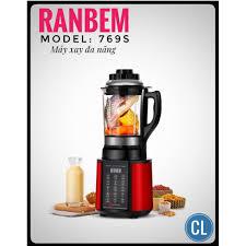 Máy làm sữa hạt RANBEM RB-769S đa tính năng - Máy xay sinh tố