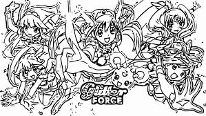 Glitter Force Toy Girl Coloring Page Printable Of Pages Beautiful 3